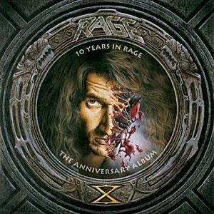 Обложка альбома Ten Years In Rage